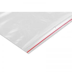 Woreczki foliowe zamykane LDPE strunowe