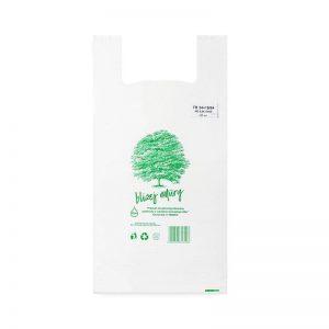 Reklamówki jednorazowe ekologiczne HD PE