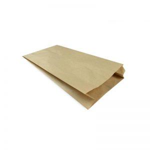 Torby papierowe fałdowane śniadaniowe