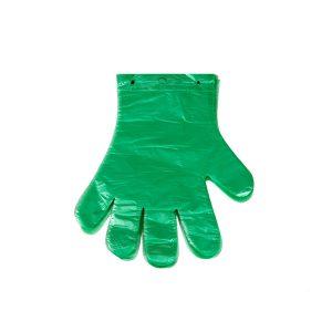 Rękawice ochronne jednorazowe ekologiczne HDPE